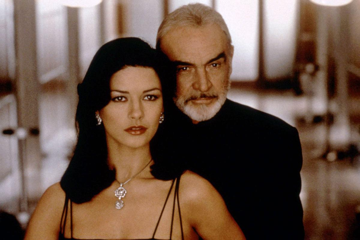 Sean Connery was 69 and Catherine Zeta-Jones was 30 in 'Entrapment' Age gap: 39 years