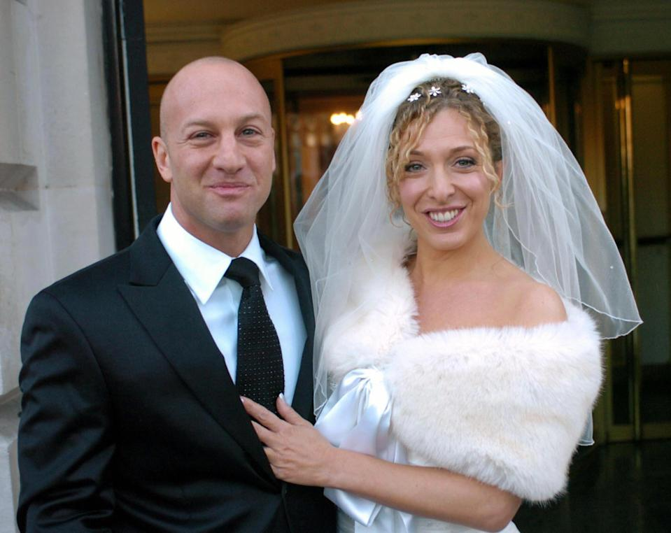 Tracy Ann-Oberman married music producer Rob Cowan in 2004 just as she became famous for playing Chrissie Watts in EastEnders. (Image: ARTHUR EDWARDS/AFP via Getty Images)