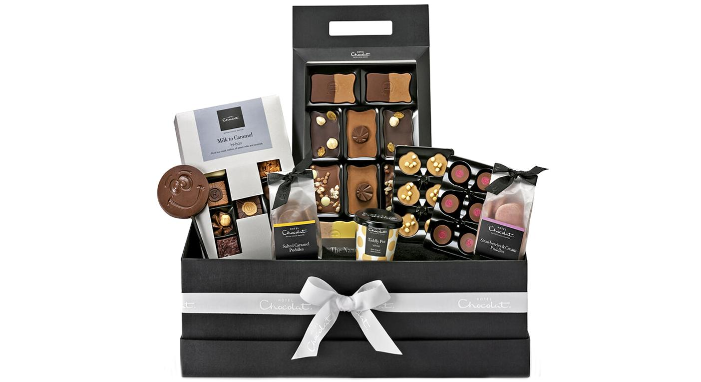 This Luxury Hotel Chocolat Hamper Is The Ideal Festive