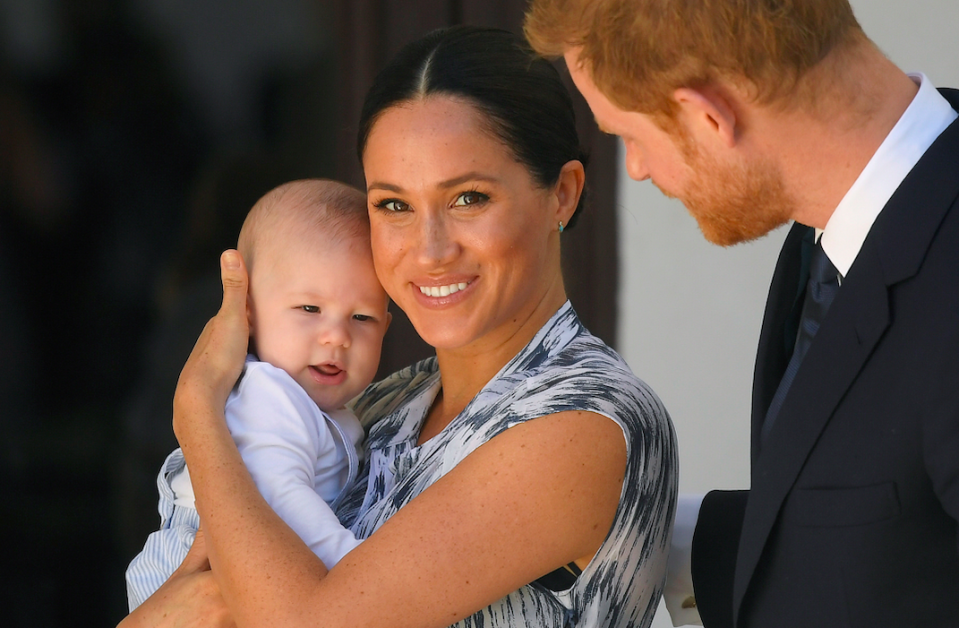 The world was waiting for the birth of Meghan Markle and Prince Harry's first child and baby Archie has shot straight to the top of the list. The royal tot made hearts melt across the globe from the moment everyone finally saw him. (Getty)