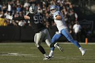 NFL: Detroit Lions at Oakland Raiders