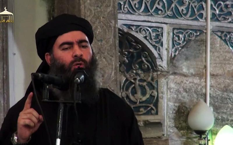 Abu Bakr al-Baghdadi, the leader of Islamic State terrorist group, is 'planning a fresh wave of terror attacks against Britain' - AFP