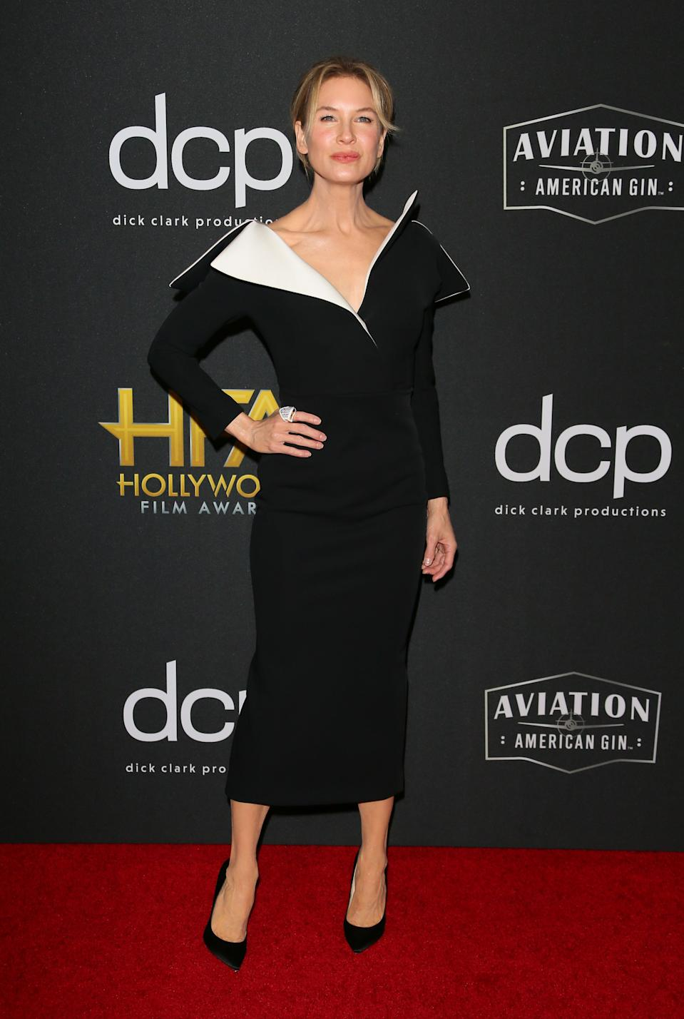 Renee Zellweger wearing Petra Flannery. <em>[Photo: Getty]</em>