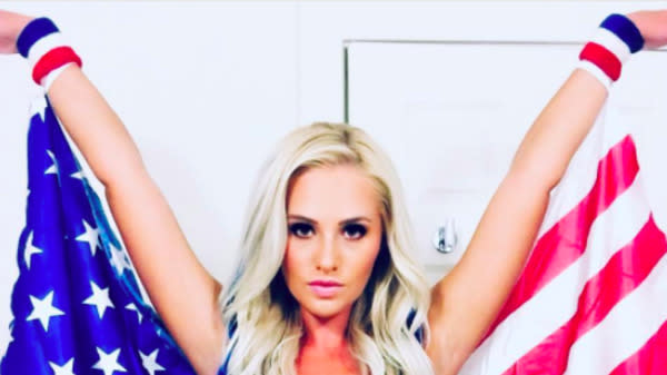 Old Glory just generated a new controversy for Fox News' Tomi Lahren.