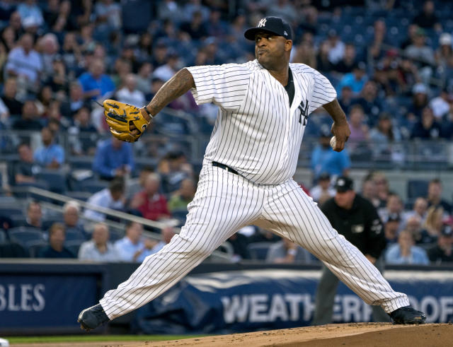 New York Yankees pitcher C. C. Sabathia (AP Photo/Craig Ruttle)
