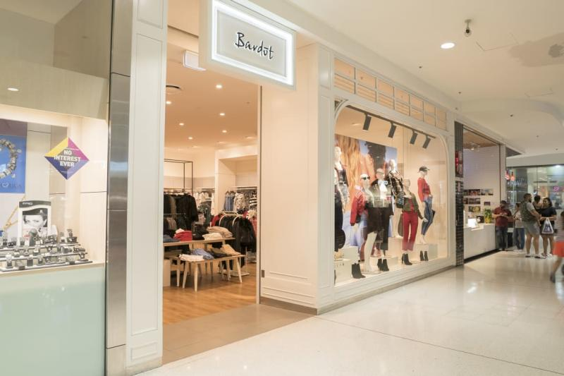 A Bardot store in Westfield Liverpool, NSW. (Source: Westfield)