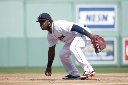 After struggling in left field last season, Hanley Ramirez is trying out first base. (Getty Images)