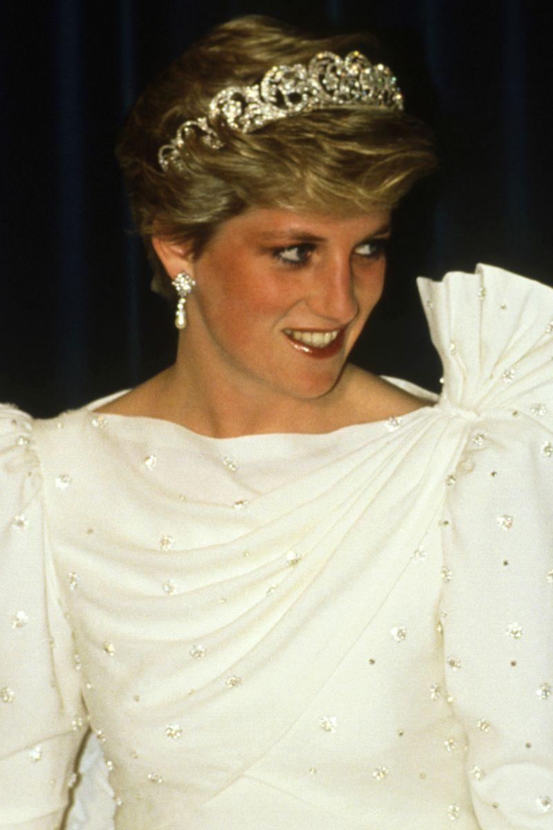 <p>Unlike other royal brides, Princess Diana wore a tiara from her own family's collection for her wedding to Prince Charles in 1981, rather than borrowing one from the Queen. Made by Garrard in the 1930s, Diana went on to wear it on subsequent special occasions as well. It was most recently worn by Diana's niece, Celia McCorquadale, for her wedding earlier this year.</p>