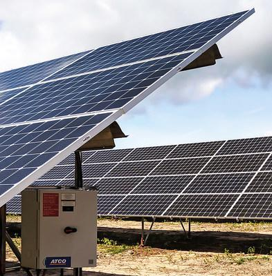 Though Canadian Utilities Limited, ATCO has acquired a 39 MW photovoltaic solar project under development near the Village of Empress in eastern Alberta. Commercial operation is expected in 2022. (CNW Group/ATCO Ltd.)