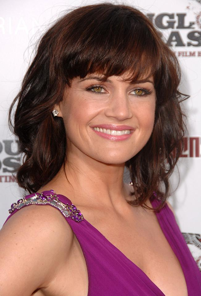 "<a href=""http://movies.yahoo.com/movie/contributor/1800024683"">Carla Gugino</a> at the Los Angeles premiere of <a href=""http://movies.yahoo.com/movie/1808404206/info"">Inglourious Basterds</a> - 08/10/2009"