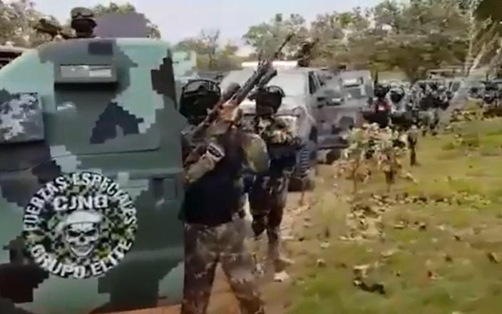 Fears are growing that the Jalisco New Generation Cartel (CJNG) are morphing into narco terrorism - Twitter