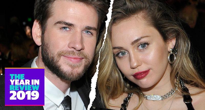 Liam Hemsworth and Miley Cyrus (Photo: Getty Images)