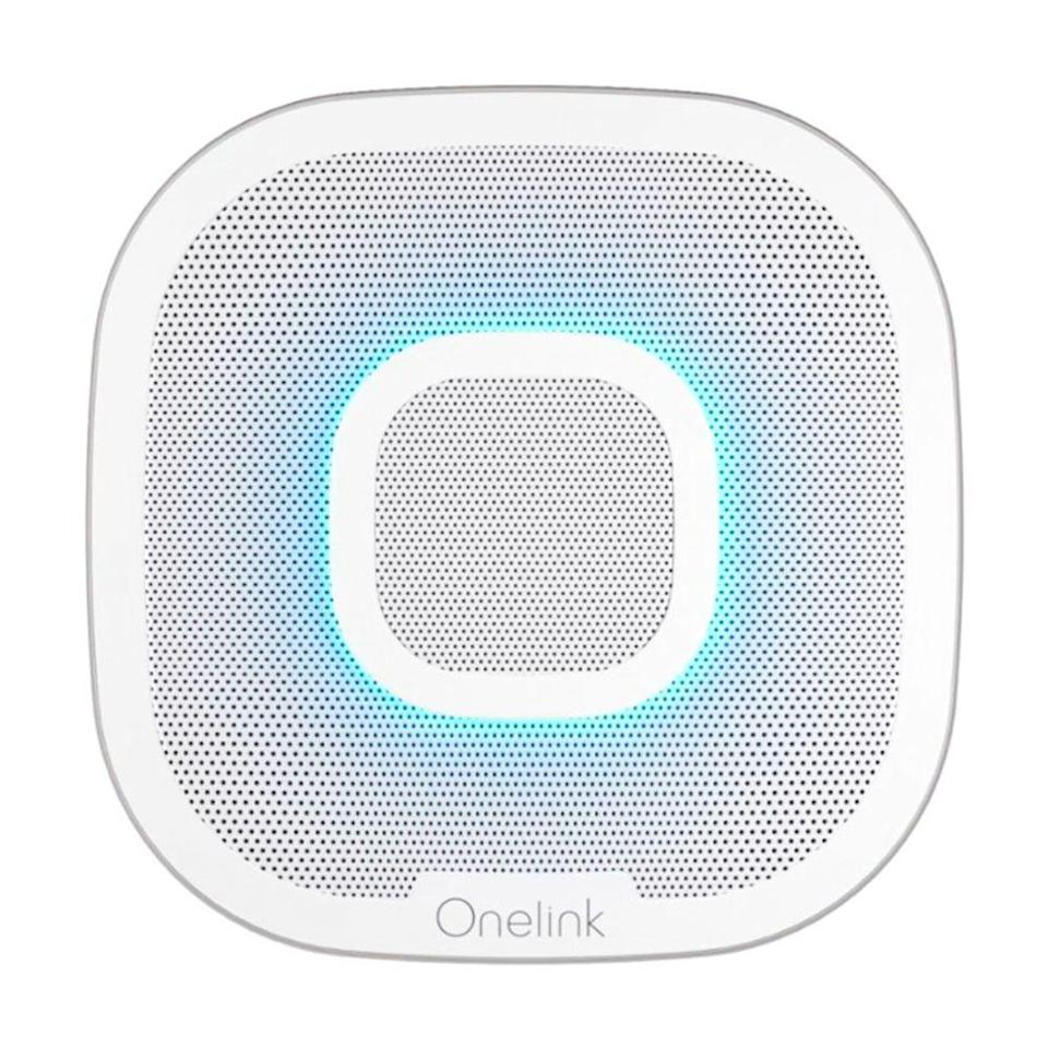 """<p><strong>Onelink</strong></p><p>amazon.com</p><p><strong>$172.99</strong></p><p><a href=""""http://www.amazon.com/dp/B077Y6CL7M/?tag=syn-yahoo-20&ascsubtag=%5Bartid%7C2089.g.864%5Bsrc%7Cyahoo-us"""" rel=""""nofollow noopener"""" target=""""_blank"""" data-ylk=""""slk:Shop Now"""" class=""""link rapid-noclick-resp"""">Shop Now</a></p><p>The First Alert Onelink Safe & Sound is a smoke and carbon monoxide detector with a built-in high-quality speaker and full Amazon Alexa functionality. The device can alert you via voice and with an 85-decibel alarm while you're at home, as well as send you mobile notifications while you're away if anything happens.<br></p><p>The Onelink Safe & Sound requires a hardwired installation, which is as straightforward as it gets. All you need to do is download the First Alert mobile app and follow the instructions to get started.</p>"""