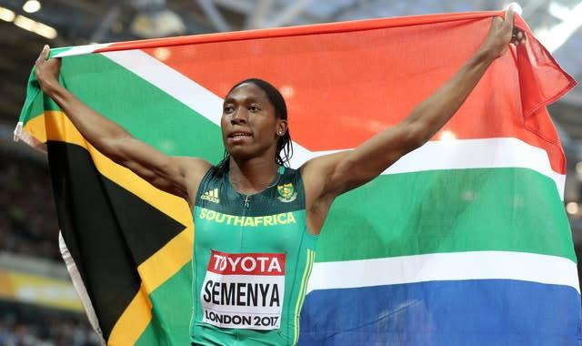 Caster Semenya is a two-time Olympic champion (Martin Rickett/PA).