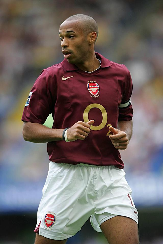 <p>For a third time in a row the Arsenal legend won the Golden Boot thanks to his 27 goals in 32 games. As far as Henry's performance was exceptional, the Gunners' season was disappointing as they finished fourth. </p>