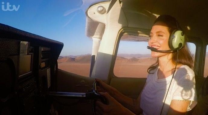Angelina Jolie, Renaissance Woman, Can Also Fly and Land a Plane