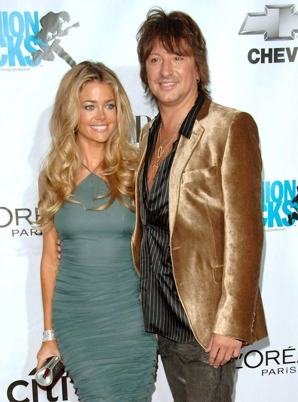"<p>Fans were left perplexed by Denise Richards and Richie Sambora's relationship, because (wait for it) they met through their former spouses. The couple <a href=""https://www.smh.com.au/entertainment/celebrity/i-didnt-break-sambora-marriage-denise-richards-20110728-1i0yw.html"" rel=""nofollow noopener"" target=""_blank"" data-ylk=""slk:began dating in 2006"" class=""link rapid-noclick-resp"">began dating in 2006</a> after Richie divorced Heather Locklear and Denise split from Charlie Sheen.</p>"