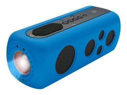 """This portable speaker is bluetooth-compatible, waterproof, has a rechargeable battery,AND has a built-in flashlight. What more could you ask for? <strong><a href=""""https://www.amazon.com/Pyle-Bluetooth-Waterproof-Flashlight-Portable/dp/B00JIJU4SC"""" target=""""_blank"""" rel=""""noopener noreferrer"""">Get it here</a></strong>."""