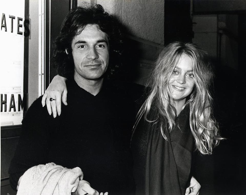 UNITED STATES - NOVEMBER 20:  BOTTOMLINE  Photo of Bill HUDSON, w/ Goldie Hawn  (Photo by Richard E. Aaron/Redferns)