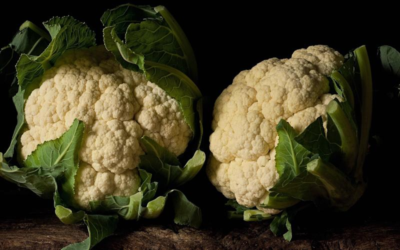 Cauliflower is officially back on the menu... - Clay Perry