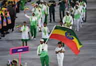 <p>Ethiopia's team looked as if it had had a bad run-in with some tie dye. </p><p><i>(Photo: Getty Images)</i><br></p>