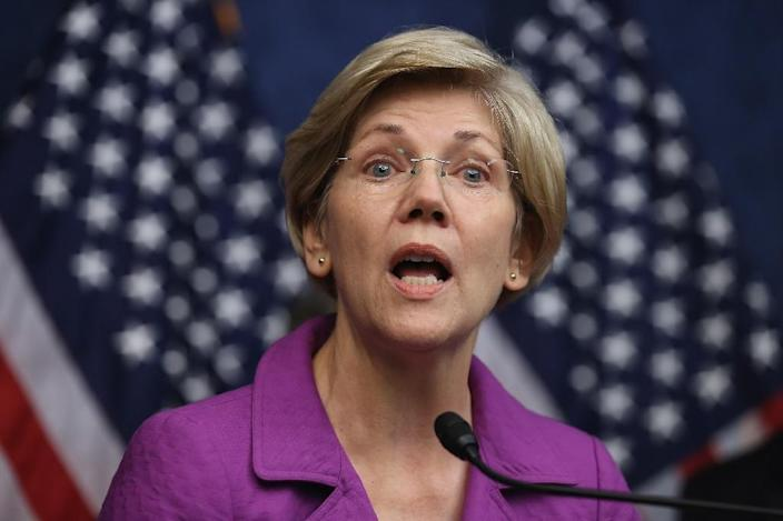 Democratic Senator Elizabeth Warren has said the ISDS would allow foreign companies to challenge US laws -- and potentially to pick up huge payouts from taxpayers -- without ever stepping foot in a US court (AFP Photo/Chip Somodevilla)