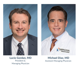 President & Managing Physician Lucio Gordan, MD; Assistant Managing Physician Michael Diaz, MD