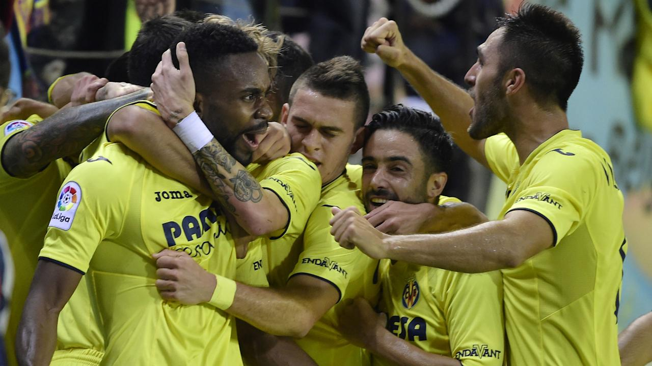 The 26-year-old striker netted a goal in each half as the Yellow Submarine coasted past the Glorious One at the Mendizorrotza