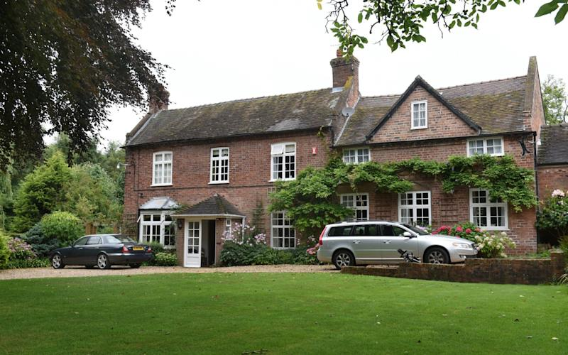 Yew Tree Manor in Shropshire where Jeremy and Piers Corbyn grew up - Jay Williams