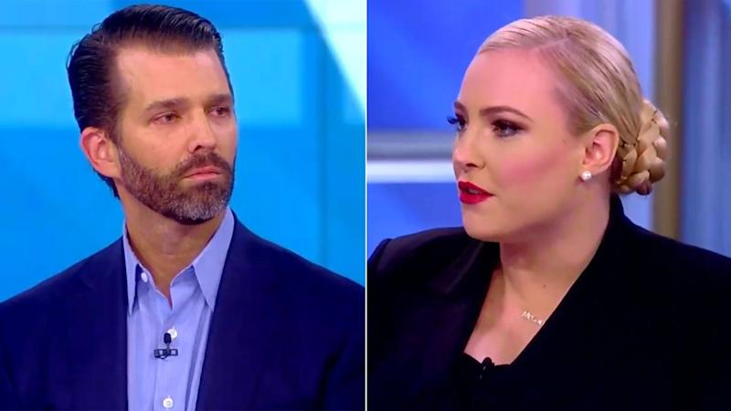 Meghan McCain Faces Off Against Donald Trump Jr. on 'The View': 'Was It Worth It?'