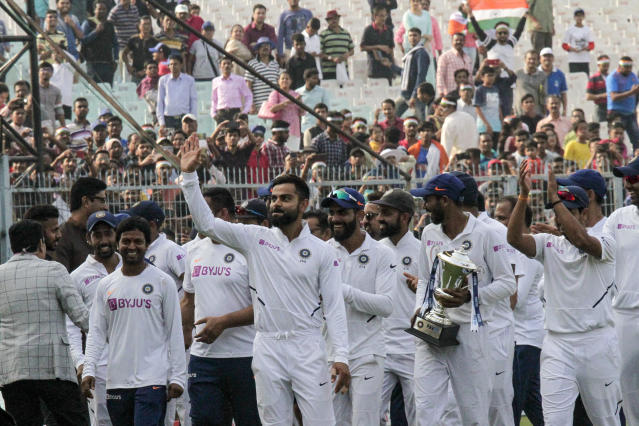 India ended this decade as the most successful Test team in the world as Virat Kohli's boys enjoyed yet another year of domination. Since 2016, India has been the top ranked Test side in the world. Team India is also placed comfortably at the top of the World Test Championship points table, with Australia a distant second.