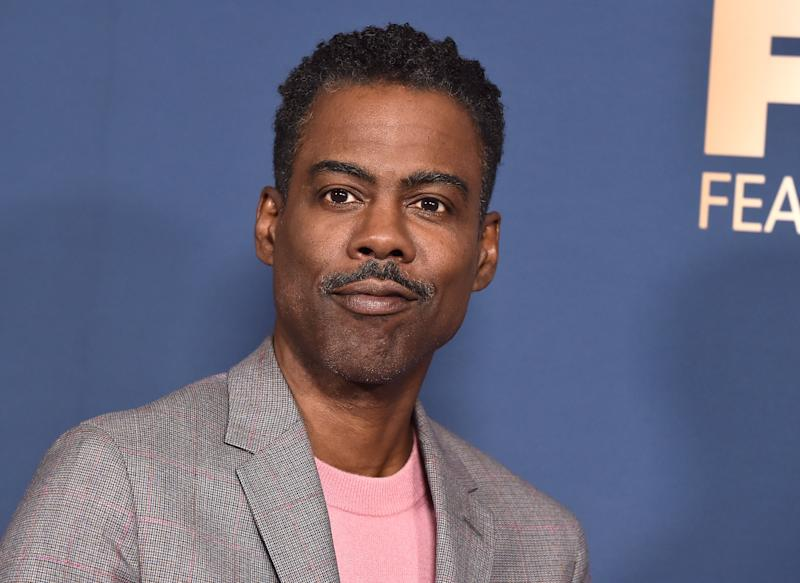 Actor-Comedian Chris Rock arrives for the FX Network Winter TCA 2020 press tour at Langham Huntington Hotel in Pasadena, California, on January 9, 2020. (Photo by LISA O'CONNOR / AFP) (Photo by LISA O'CONNOR/AFP via Getty Images)
