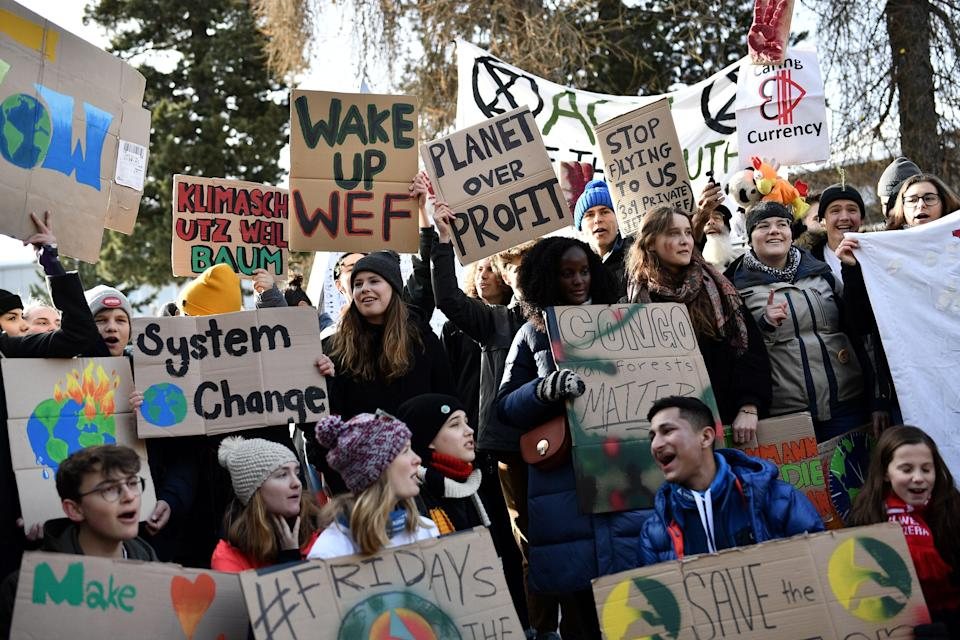 'It is clear that those most impacted by the climate crisis are consistently excluded from every level of the decision-making process' (AFP via Getty Images)