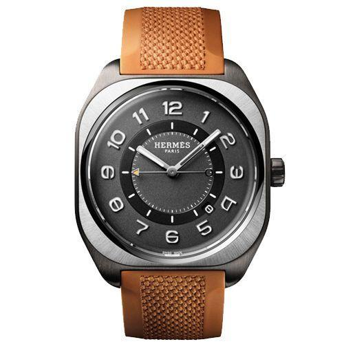 """<p>H08 39 x 39 </p><p><a class=""""link rapid-noclick-resp"""" href=""""https://www.hermes.com/uk/en/product/hermes-h08-watch-39-x-39mm-W049628WW00/"""" rel=""""nofollow noopener"""" target=""""_blank"""" data-ylk=""""slk:SHOP"""">SHOP</a></p><p>Described as the """"most Hermès watch ever"""" (by Esquire, no less), the H08 is about as menswear-y and French as it gets without ceding 'prestige' to the old Swiss greats. Hermès still stands toe-to-toe with them. Except now, there's a satin-brushed titanium wash that is an extension of, and not a detachment from, the respected aesthetic of creative director Véronique Nichanian. She's been in the job for 30 years for a reason.<br></p><p>£4,440; <a href=""""https://www.hermes.com/uk/en/product/hermes-h08-watch-39-x-39mm-W049628WW00/"""" rel=""""nofollow noopener"""" target=""""_blank"""" data-ylk=""""slk:hermes.com"""" class=""""link rapid-noclick-resp"""">hermes.com</a></p>"""