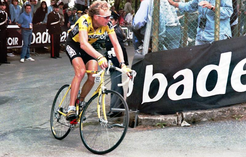 Jonker earlier in the 1995 Giro