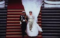 """<p>Prince Charles married Lady Diana Spencer on July 29 in a ceremony considered by many to be the """"wedding of the century."""" As per norm, this British wedding followed long-held traditions and was televised in it's entirety.</p>"""
