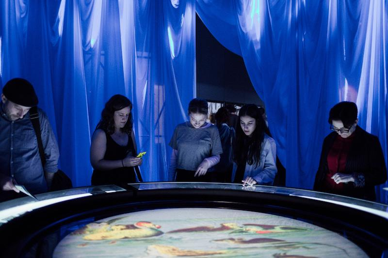 Pool of Tears at Wonderland, ACMI. Photo: Anne Moffatt