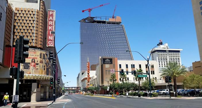 "The 35-story Circa resort is under construction in Las Vegas. <span class=""copyright"">(Jay Jones)</span>"
