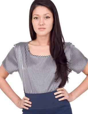 """<div class=""""caption-credit""""> Photo by: Photo courtesy of Americanapparel.net</div><div class=""""caption-title""""></div>SATIN CHARMEUSE SQUARE TEE, $17, AMERICANAPPAREL.NET"""