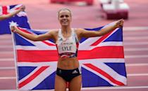 <p>Maria Lyle took home a bronze medal in the T35 category. This is Maria's 4th Para medal and she's still to lace up for the 200m!</p>