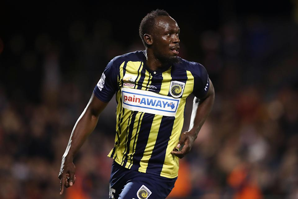 Usain Bolt doesn't have a professional soccer contract yet, but he still has to take a drug test. (Getty Images)