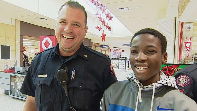 Shopping with a cop a reward for Calgary students, and a chance to bond