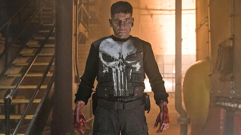 Jon Bernthal as Frank Castle, otherwise known as the Punisher, in the canceled Netflix series. (Photo: Netflix)