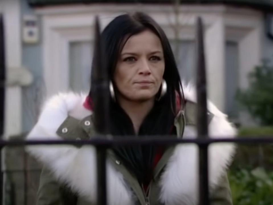 Jarvis played Hayley Slater on the soap (BBC)