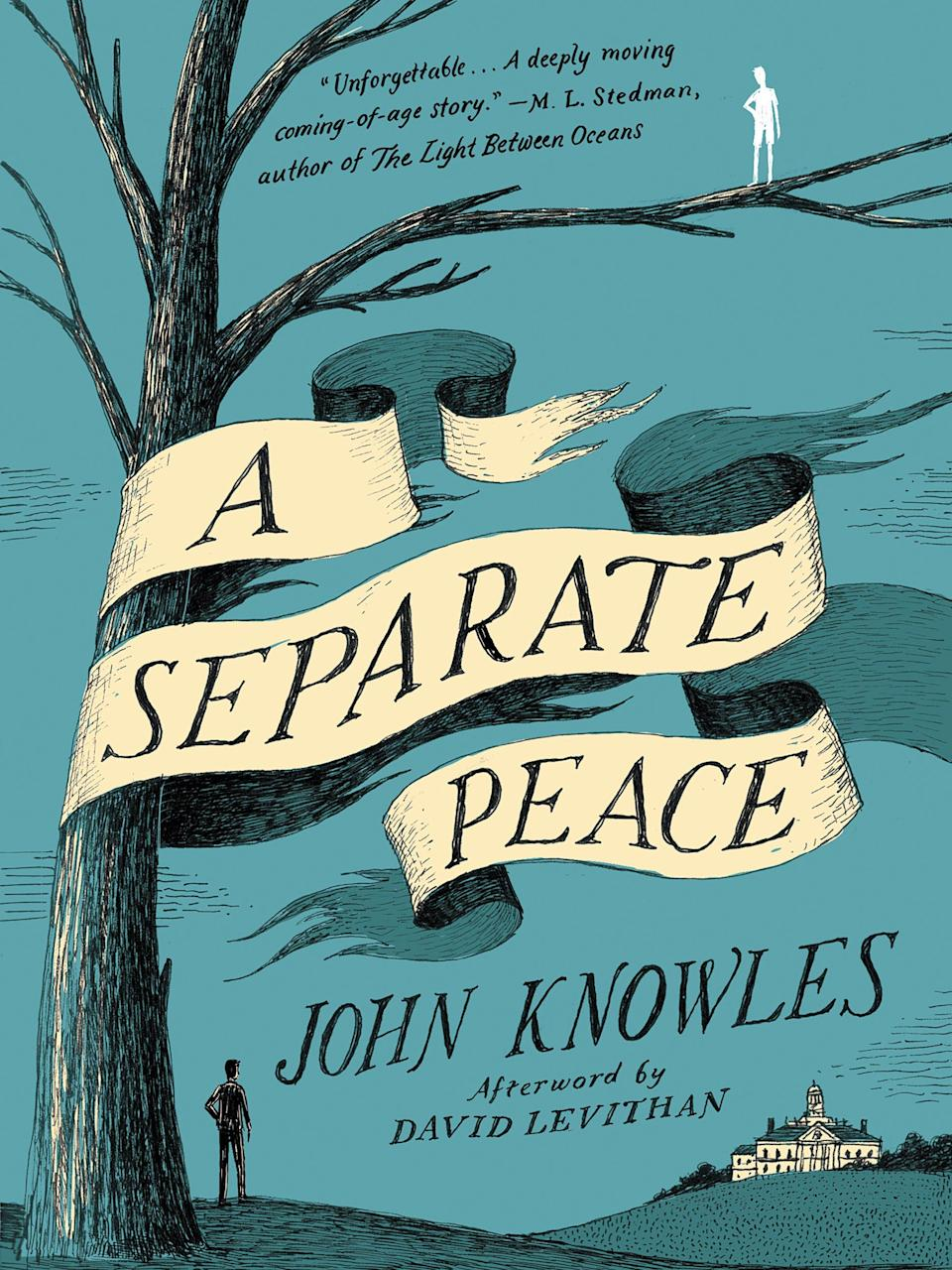 """""""A Separate Peace,"""" by John Knowles"""