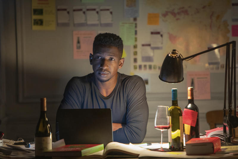 """This image released by Netflix shows Mamoudou Athie in a scene from """"Uncorked."""" (Netflix via AP)"""