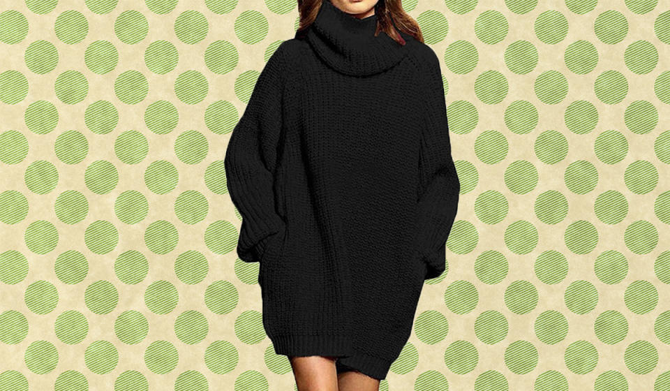 This oversized sweater is perfect for fall and winter. (Photo: Amazon)