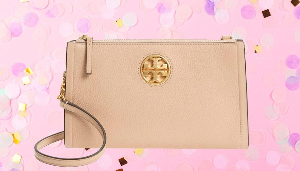 Tory Burch items are heavily discounted at the Nordstrom Anniversary Sale 2021.