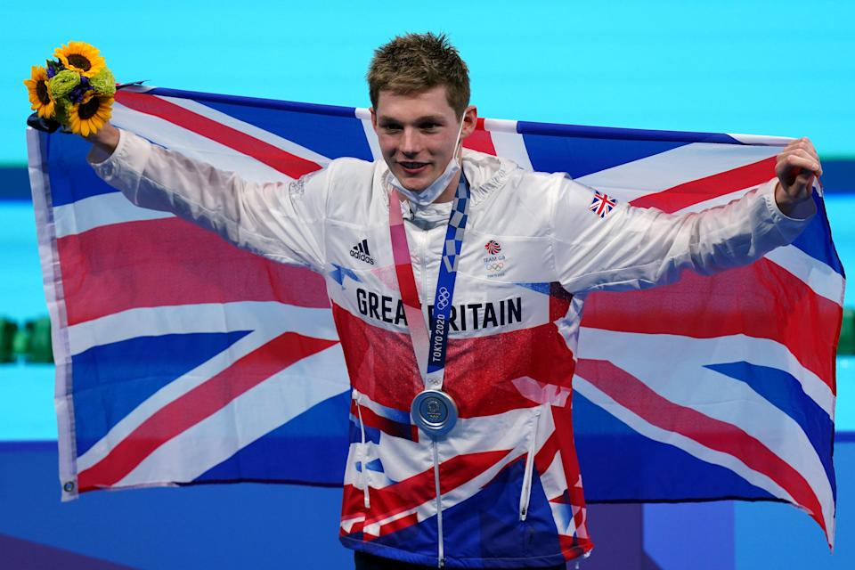 Scott took silver in the 200m medley (Adam Davy/PA) (PA Wire)