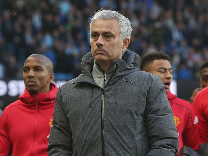 Mourinho went from vicious to tedious in five short minutes in his post-match press conference: Getty